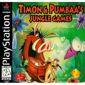 Timon and Pumbaa's Jungle Games Video Game For Sony PS1