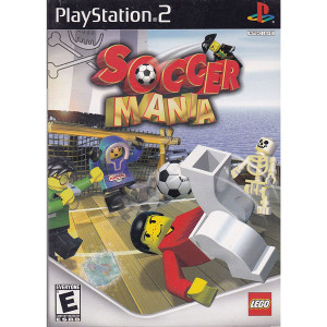 Soccer Mania Video Game For Sony PS2