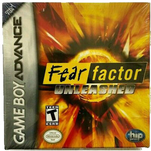 Fear Factor Unleashed Video Game For Nintendo GBA