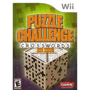 Puzzle Challenge Crosswords and More Video Game For Nintendo Wii