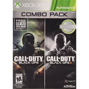 Call of Duty Black Ops / Call of Duty Black Ops II Combo Pack Video Game For Microsoft Xbox 360