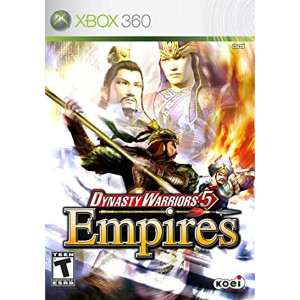 Dynasty Warriors 5 Empires Video Game For Microsoft Xbox 360
