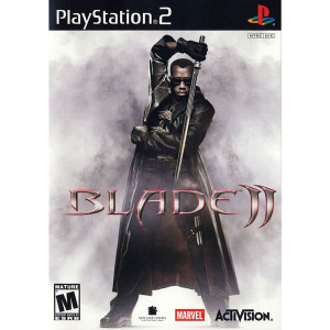 Blade II Video Game For Sony PS2
