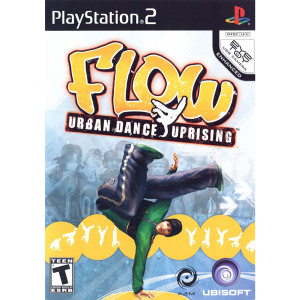 Flow Urban Dance Uprising Video Game For Sony PS2