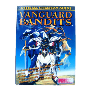 Vanguard Bandits Official Strategy Guide Working Designs For Sony PS1