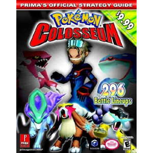 Pokemon Colosseum Prima Official Game Guide For Nintendo GameCube