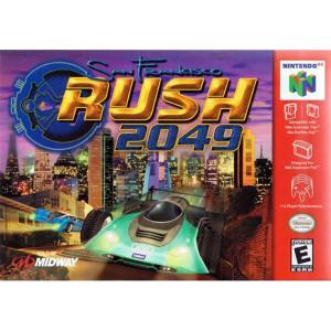 San Francisco Rush 2049 Video Game For Nintendo N64
