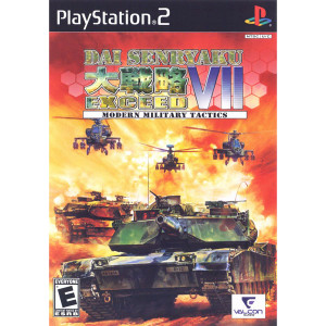 Dai Senryaku Exceed VII Video Game For Sony PS2