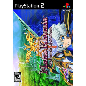 Mana Khemia Alchemists of Al-Revis Video Game For Sony PS2