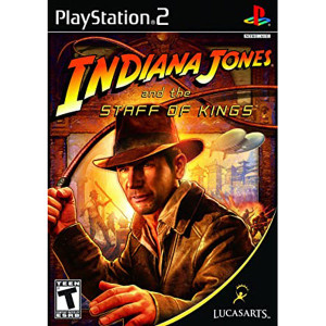 Indiana Jones and The Staff of Kings Video Game For Sony PS2