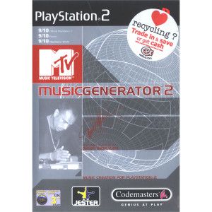MTV Music Generator 2 Video Game For Sony PS2