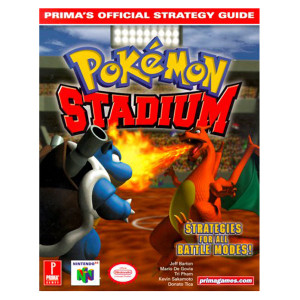 Pokemon Stadium Prima Official Game Guide For Nintendo N64