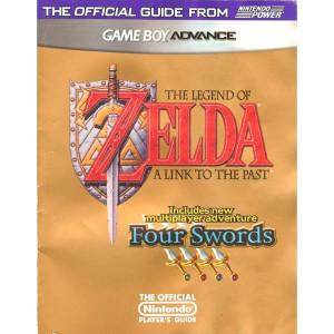 Legend of Zelda: A Link To The Past / Four Swords Nintendo Power Official Game Guide For Nintendo GBA