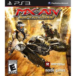 MX vs ATV Supercross Video Game For Sony PS3