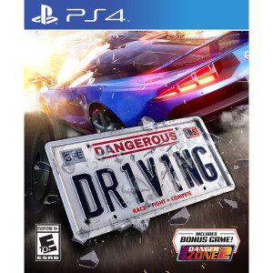 Dangerous Driving Video Game For Sony PS4