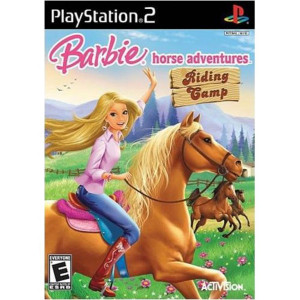Barbie Horse Adventures Riding Camp Video Game For Sony PS2