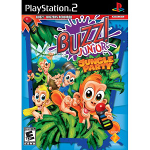 Buzz! Junior Jungle Party Video Game For Sony PS2
