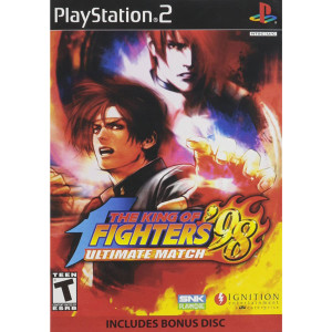 King of Fighters Ultimate Match 98 Video Game For Sony PS2