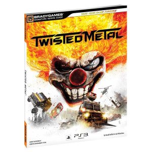 Twisted Metal BradyGames Official Game Guide For Sony PS3