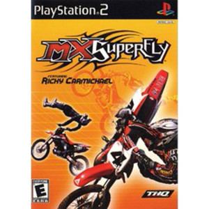 MX Superfly Video Game For Sony PS2