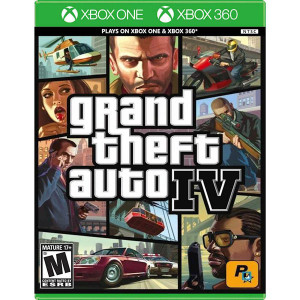 Grand Theft Auto IV Video Game For Microsoft Xbox One