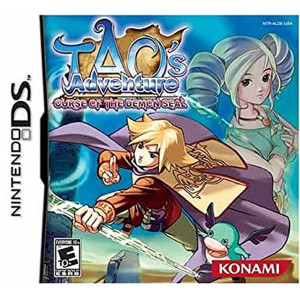 Tao's Adventure Curse of the Demon Seal Video Game For Nintendo DS