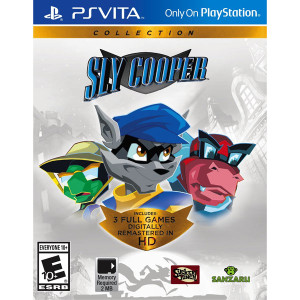 Sly Cooper Collection Video Game For Sony PSVita