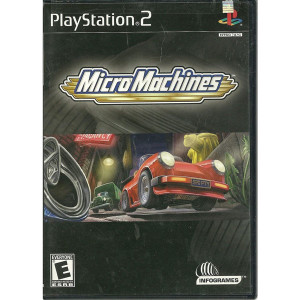 Micro Machines Video Game For Sony PS2