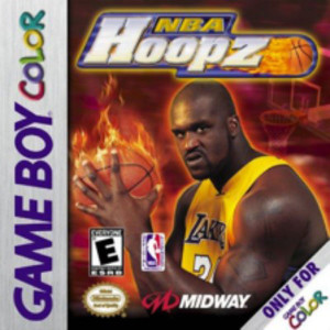 NBA Hoopz Video Game For Nintendo GBC