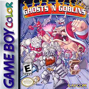 Ghosts N Goblins Video Game For Nintendo GBC