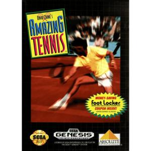David Crane's Amazing Tennis Complete Game For Sega Genesis