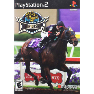 Breeders' Cup World Thoroughbred Championships Video Game For Sony PS2