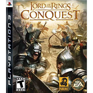 Lord of the Ring Conquest Video Game For Sony PS3