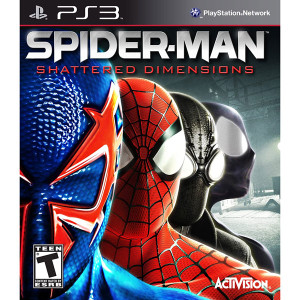 Spider-Man Shattered Dimensions Video Game For Sony PS3