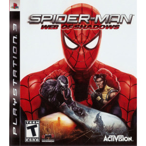 Spider-Man Web of Shadows Video Game For Sony PS3