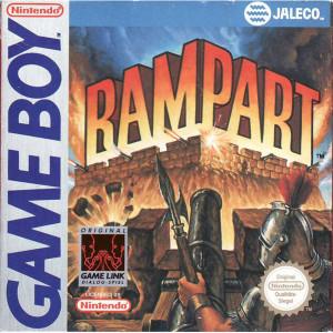 Rampart Video Game For Nintendo GameBoy