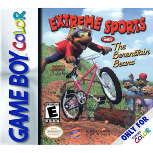 Extreme Sports With The Berenstain Bears Video Game For Nintendo GBC