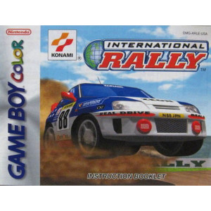 International Rally Video Game For Nintendo GBC