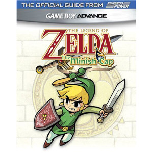 Legend of Zelda The Minish Cap Nintendo Power Official Game Guide For Nintendo GBA