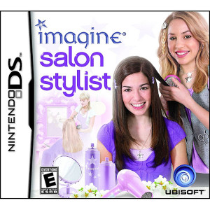 Imagine Salon Stylist Video Game For Nintendo DS