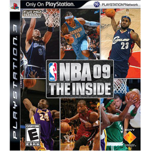 NBA 09 The Inside Video Game For Sony PS3