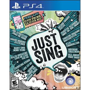 Just Sing Video Game For Sony PS4