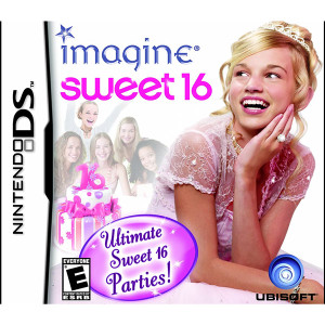Imagine Sweet 16 Video Game For Nintendo DS