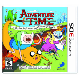 Adventure Time Hey Ice King! Video Game For Nintendo 3DS