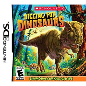 Digging For Dinosaurs Video Game For Nintendo DS