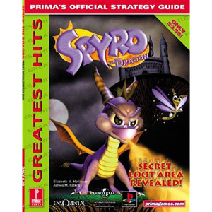 Spyro The Dragon PS1 - Prima Official Game Guide