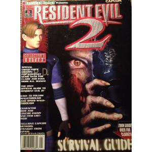 Resident Evil 2 Gamefan Books Official Game Guide For Sony PS1