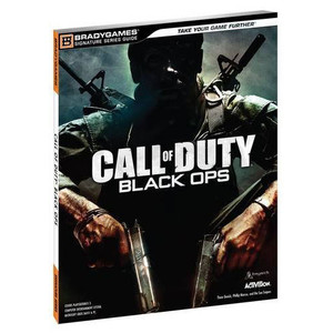 Call of Duty Black Ops BradyGames Official Game Guide Microsoft Xbox 360 and Sony PS3