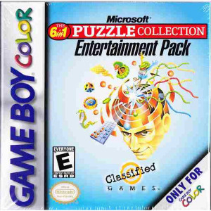 Puzzle Collection Entertainment Pack Video Game For Nintendo GBC