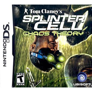 Splinter Cell Chaos Theory Video Game For Nintendo DS